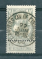 78 Gestempeld ANVERS AV DE L'INDUSTRIE - 1905 Thick Beard