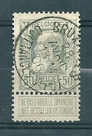 78 Gestempeld BRUXELLES QUITTANCES DEPOT - 1905 Thick Beard