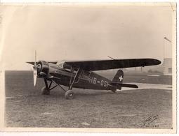 Aviation - Avion AC 12 (constructeur Alfred Comte) Lausanne-Blécherette - Rare - Aviation