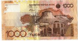 Kazakhstan 1000 Tenge Circulated As Per Scan - Singapore