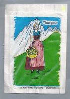 Suikerzakje.- THURGAU - BERN.  G. PERPELLINI - LOSONE. Zwitserland. Suisse. Sugar Sucre Zucchero Zucker - Suiker