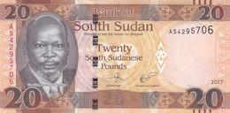SOUTH SUDAN 20 POUND 2017 P-NEW UNC */* - South Sudan