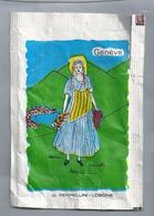 Suikerzakje.- GENEVE - ZURICH.  G. PERPELLINI - LOSONE. Zwitserland. Suisse. Sugar Sucre Zucchero Zucker - Suiker