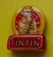 Fève  - Les Aventures De Tintin -  Logo - Buste De Tintin -  Réf AFF 2012 1 - BD