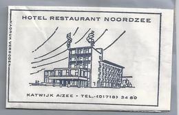 Suikerzakje.- KATWIJK A/ ZEE. HOTEL RESTAURANT NOORDZEE. Sugar Sucre Zucchero Zucker - Suiker