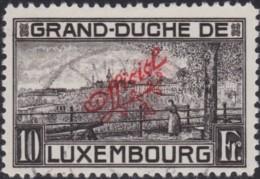 Luxembourg  .    Yvert    .   Service  148       .   O      .  Oblitéré  .   /   .   Gebraucht - Officials