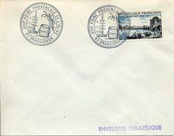 DRAGUIGNAN 1966 13e FOIRE PROVENCALE DE L'OLIVE Olivier Olive Baril Tonneau Huile - Poststempel (Briefe)