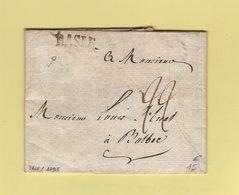 Suisse - Basle - Lettre De Bale 1795 Destination Bolbec En France - Switzerland