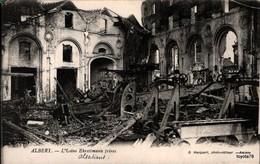 ALBERT (Somme) - L'usine Ehrestmann Frères -[ Militaria , Bombardement , Ruines ] - Albert
