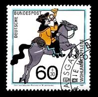 Bund  1989 Mi.nr.: 1437 Postbeförderung  Gestempelt / Oblitérés / Used - Usati