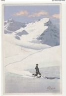 Illustrateur Pellegrini N° 155 - Ski Montagnes Randonnée Télémark - Otros Ilustradores