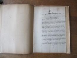 10 JUILLET 1908 VENTE PAR M.et Mme PONCET BARBARE A LA LAITERIE D'ORIGNY SAINTE BENOITE LEFEBVRE ET COMPAGNIE D'UN ETABL - Manuscritos