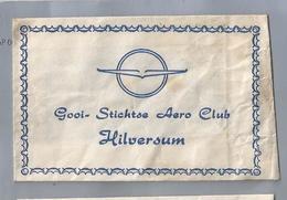 Suikerzakje.- HILVERSUM. GOOI- STICHTSE AERO CLUB. Sugar Sucre Zucchero Zucker - Suiker