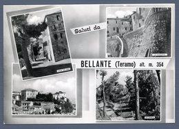 °°° Cartolina - Saluti Da Bellante Vedute Viaggiata °°° - Teramo