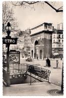 CPSM 75 PARIS 3e Station De Métro BOULEVARD SAINT MARTIN Porte Saint Martin Ed Arts Et Photos DD N° 32 - District 03