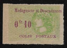MADAGASCAR 1919/1922 - COLIS POSTAUX YT 4** - Madagascar (1889-1960)