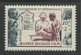 MADAGASCAR 1950 YT 320** - Neufs