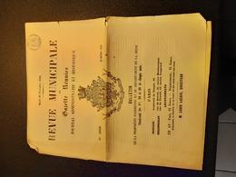 1860 - Revue Municipale Et Gazette Réunies - Journal Administratif Et Historique - 19è Année N°356 - Documentos Históricos