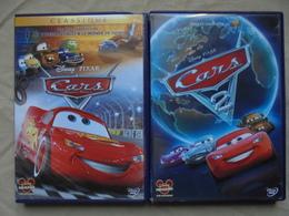 Lot - 2 DVD - Cars & Cars 2 Disney Pixar - Enfants & Famille