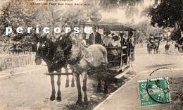 33  Moulleau   Départ Du Tram Car Pour Arcachon  (rare) - Arcachon