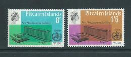 Pitcairn Islands 1966 WHO Set 2 MNH - Pitcairn Islands