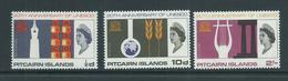 Pitcairn Islands 1966 UNESCO Set 3 MNH - Pitcairn Islands