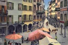 Suisse Lugano  Via Nassa  Apotheke E. Soldati    Barry 2774 - TI Ticino