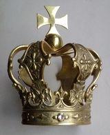 Brass Crown Couronne De Laiton Krone Aus Messing Corona Di Ottone - Bronzen