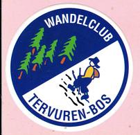 Sticker - Wandelclub - TERVUREN-BOS - Autocollants