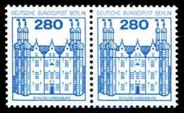 BERLIN DS BURGEN U. SCHLÖSSER Nr 676 Postfrisch WAAGR P S9A4246 - Nuovi