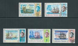 Pitcairn Islands 1967 Discovery Anniversary Set Of 5 VFU - Pitcairn Islands