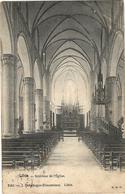 -LIBIN-Intérieur De L'église- Edition ,J Debehogne-Desonniaux.-+ou- 1.900 -Adressée A La Révérende Soeur Prudence (Nanin - Libin