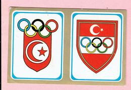 Sticker - Olympische Spelen MÜNCHEN 1972 - EMBLEEMEN - Autocollants