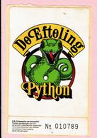 Sticker - De Efteling - Python - Autocollants