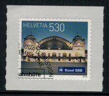 Suisse // Schweiz // Switzerland // 2016  // Gare De Bâle Oblitéré 1er Jour No. 1616 - Switzerland