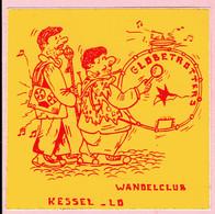 Sticker - WANDELCLUB - KESSEL LO - GLOBETROTTERS - Autocollants