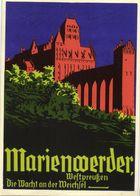 Marienwerder, Die Wacht An Der Weichsel Propaganda WK II 1940s AK, Kwidzyn Polen - Westpreussen