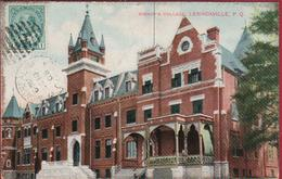 Canada Quebec Sherbrooke Lennoxville Bishop's College CPA Old Postcard 1908 (In Good Condition) - Sherbrooke