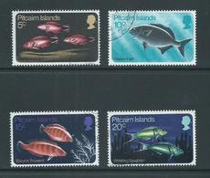 Pitcairn Islands 1970 Fish Set 4 VFU - Pitcairn Islands