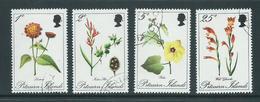 Pitcairn Islands 1970 Flowers Set 4 VFU - Pitcairn Islands