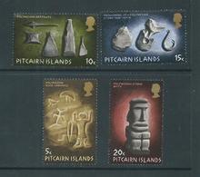 Pitcairn Islands 1971 Polynesian Art Set 4 VFU - Pitcairn Islands