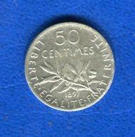50  Cents  1897  La  Rare - France