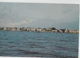 Belize City From Baron Bliss Promenade Postcard Shore View - Belize