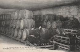 *** 33  ***  Etablissement Delmas Et Fils  Mise En Bouteilles Des Bourgognes  BORDEAUX Neuve TTBE - Bordeaux