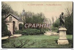 CPA Fleurs Saint Quentin Pavillon D&#39horticulture - Flowers, Plants & Trees