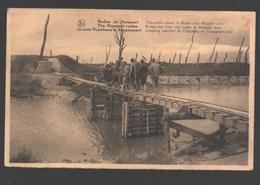 Ieper - Groote Pijlschans Te Nieuwpoort - Loopbrug Tusschen De Pijlschans En Nieuwpoort-Stad - Sites De Guerre - Ieper
