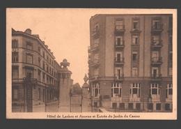 Spa - Hôtel De Laeken Et Annexe Et Entrée Du Jardin Du Casino - Grand Hôtel De Laeken - Carte Publicitaire - Spa