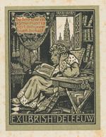Ex Libris H. Deleeuw - Paul Eeckhout (1917-2012) Enige Foxing (Antwerpen) - Ex-libris