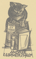 Ex Libris Andree Lummerzheim - Gerard Gaudaen - Ex-libris