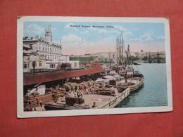 Wharf Scene Havana Cuba             Ref 3764 - Cuba